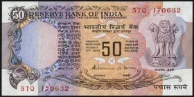 Indien / India P.084f 50 Rupien (1978) (1)