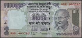 Indien / India P.098f 100 Rupien 2009 (1)