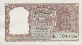 Indien / India P.030 2 Rupien (ca. 1962-67) (1)