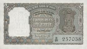 Indien / India P.031 2 Rupien (ca. 1962-67) (1)