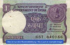 Indien / India P.078Ad 1 Rupie (1)