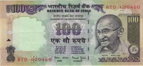 Indien / India P.091i 100 Rupien (2)