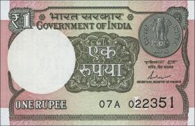 Indien / India P.117c 1 Rupie 2017 (1)