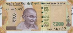 Indien / India P.neu 200 Rupien 2017 (1)