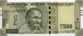 Indien / India P.neu 500 Rupien 2018 (1)