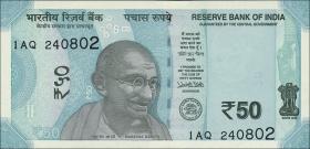 Indien / India P.neu 50 Rupien 2017 (1)