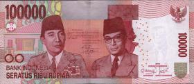 Indonesien / Indonesia P.153c 100.000 Rupien 2013 (1)