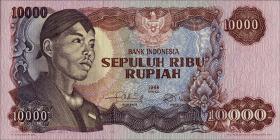 Indonesien / Indonesia P.112 10000 Rupien 1968 (1)