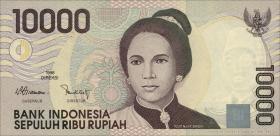 Indonesien / Indonesia P.137 10000 Rupien 1998 (1)