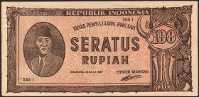 Indonesien / Indonesia P.029 100 Rupien 1947 (1/1-)