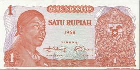 Indonesien / Indonesia P.102 1 Rupie 1968 (1)