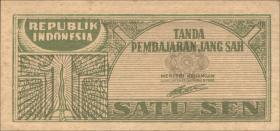 Indonesien / Indonesia P.013 1 Sen 1945 (1)