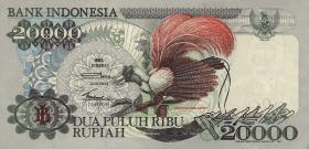 Indonesien / Indonesia P.132a 20000 Rupien 1992 (1)