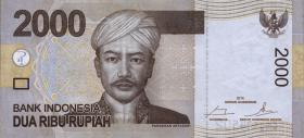 Indonesien / Indonesia P.148f 2000 Rupien 2014 (1)