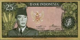 Indonesien / Indonesia P.084a 25 Rupien 1960 (1)
