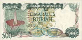Indonesien / Indonesia P.121 500 Rupien 1982 (1)