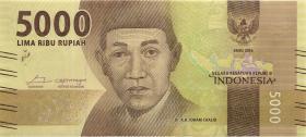 Indonesien / Indonesia P.156b 5000 Rupien 2016 (2017) (1)