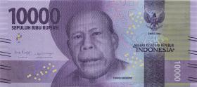 Indonesien / Indonesia P.157b 10000 Rupien 2016 (2018) (1)