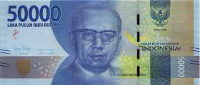 Indonesien / Indonesia P.159b 50000 Rupien 2016 (2018) (1)