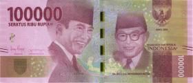 Indonesien / Indonesia P.160b 100.000 Rupien 2016 (2018) (1)
