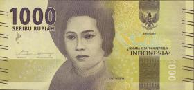 Indonesien / Indonesia P.Neu 1000 Rupien 2016 (1)