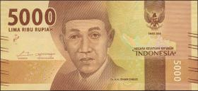 Indonesien / Indonesia P.156a 5000 Rupien 2016 (1)