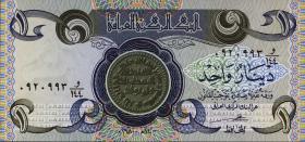 Irak / Iraq P.069 1 Dinar 1979-1980 (1)