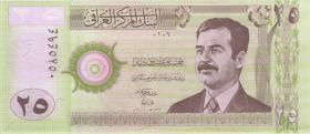 Irak / Iraq P.086 25 Dinar 2001 (1)