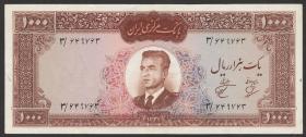 Iran P.075 1000 Rials (1962) (3)