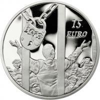 Irland 15 Euro 2013 100 J. Dublin Lockout