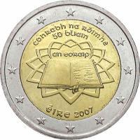 Irland 2 Euro 2007 Römische Verträge