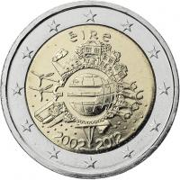 Irland 2 Euro 2012 Euro-Bargeld