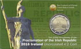 Irland 2 Euro 2016 Osteraufstand Coincard