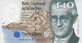 Irland / Ireland P.76b 10 Pounds 1999 (1)
