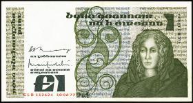 Irland / Ireland P.70a 1 Pound 1977 (1)