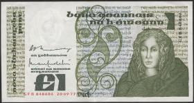 Irland / Ireland P.70a 1 Pound 1977 (2)