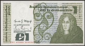 Irland / Ireland P.70c 1 Pound 1984 (1/1-)
