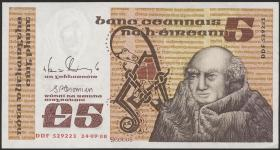 Irland / Ireland P.71e 5 Pounds 1988 (1)