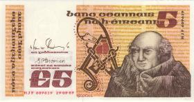 Irland / Ireland P.71e 5 Pounds 1989 (1)