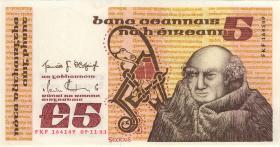 Irland / Ireland P.71d 5 Pounds 1983 (1)
