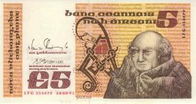 Irland / Ireland P.71e 5 Pounds 1991 (1)