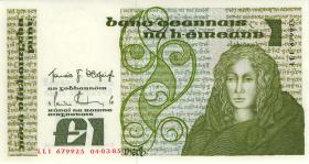 Irland / Ireland P.70c 1 Pound 1985 (1)