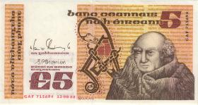Irland / Ireland P.71e 5 Pounds 1988 (1/1-)