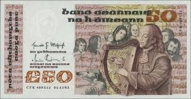Irland / Ireland  P.74a 50 Pounds 1982 (1)