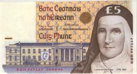 Irland / Ireland P.75a 5 Pounds 1994 (1)