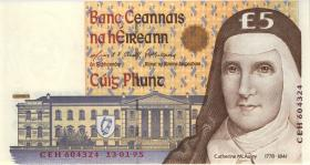 Irland / Ireland P.75b 5 Pounds 1995 (1)