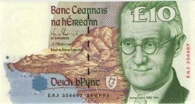 Irland / Ireland P.76a 10 Pounds 1993 (1)