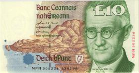 Irland / Ireland P.76b 10 Pounds 1998 (1)