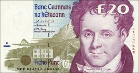 Irland / Ireland P.77b 20 Pounds 1998 (1)