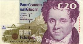 Irland / Ireland P.77b 20 Pounds 1999 (2)